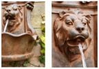 Small Lion Head Wall Fountain by Ambienté™