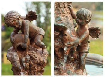 Cherubs Fountain Water Feature by Ambienté™