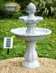 92cm Imperial Round Tiered Solar Fountain