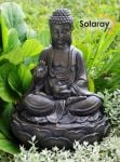 Anya Buddha Solar Water Feature by Solaray� - H39cm
