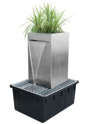 Bruar Falls Planter Cascading Square Water Feature - H70cm x W70cm