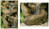 Thornton Hops 3 Tier Water Feature with Lights - H100cm