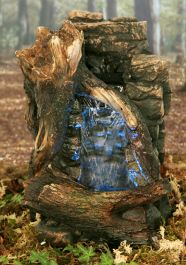 H35cm Mountain Springs Water Feature with Lights by Ambienté