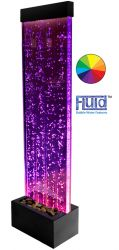 H150cm Bubble Water Wall with Colour Changing LEDs | Indoor Use - by Fluid