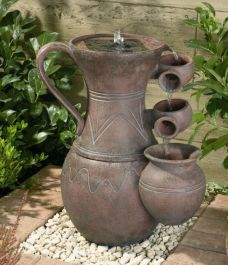 H55cm Pitcher Solar Water Feature