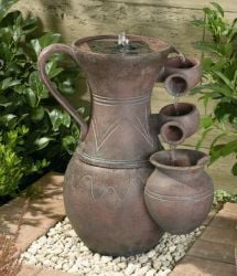 55cm Pitcher Solar Water Feature