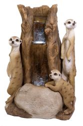 Meerkat Tree Water Feature