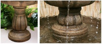 H92cm Jata 2 Tier Water Fountain by Ambienté™
