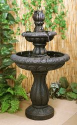 H89cm 2-Tier Maret Water Fountain by Ambienté™