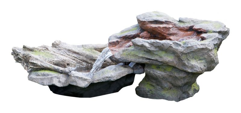 Utsuri Falls Stone River Water Feature with Pond L180cm