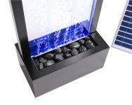 Solar Powered Bubble Water Wall (1.5m) with Lights and Remote Control by Solaray�