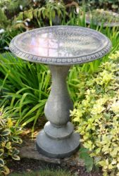 Ornamental Stone Effect Bird Bath