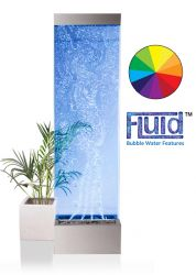 183cm Orion Bubble Water Wall with Colour Changing LED Lights - Indoor Use