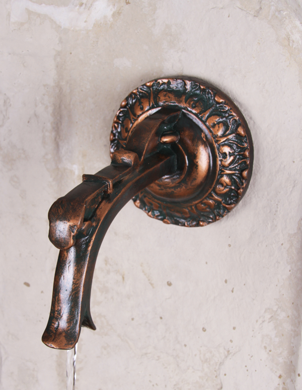 Getafe Wall Fountain with Classical Spout